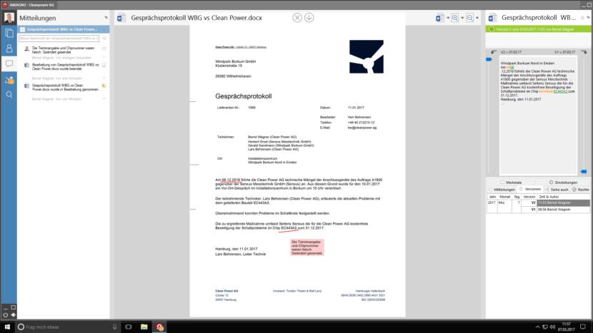Versionierung 830x467 - Revisionssicherheit mit DMS