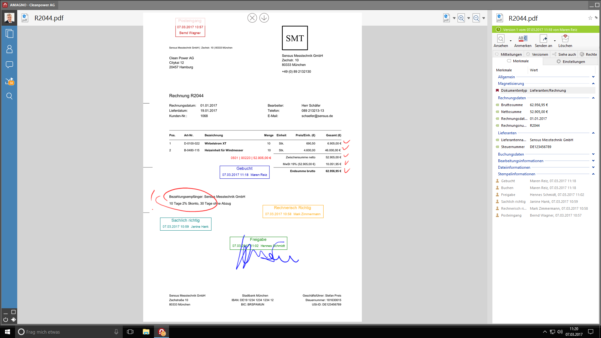 Interaktive Dokumente - Automatisierte Geschäftsprozesse