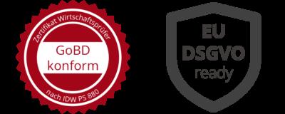 GoBD DSGVO Logos 400x160 - Datenschutz