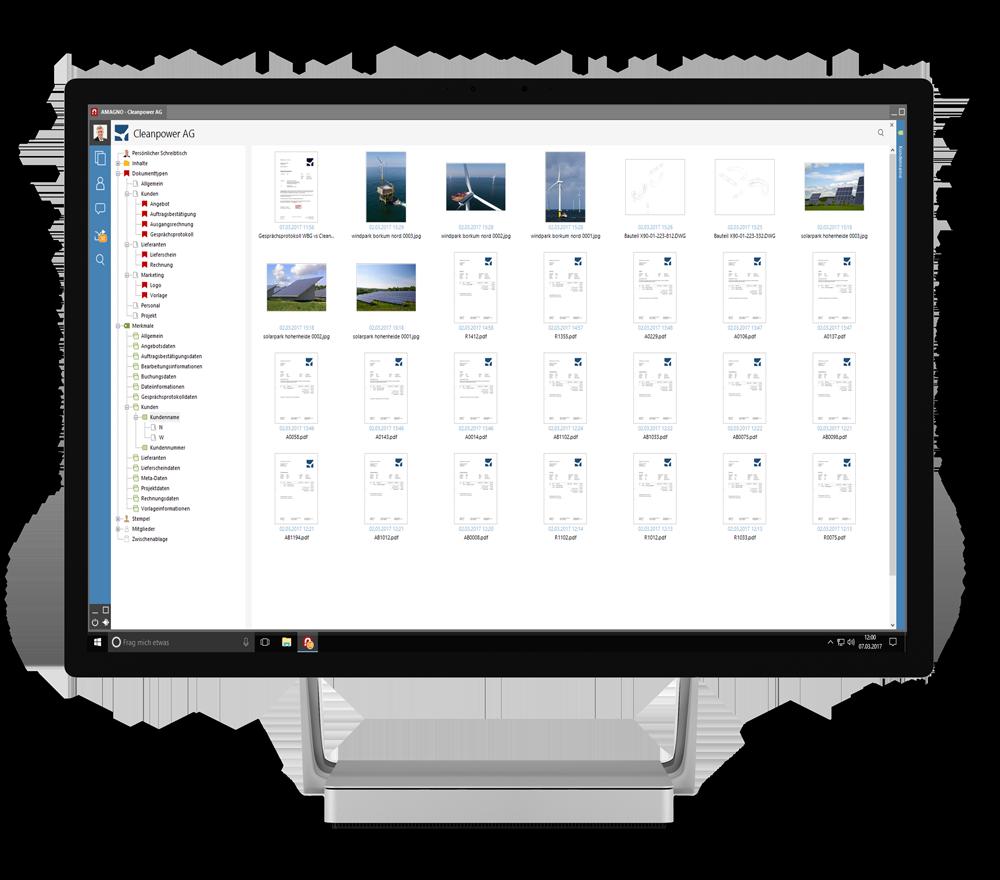 AMAGNO on Microsoft Studio - AMAGNO Business Cloud Anmeldung