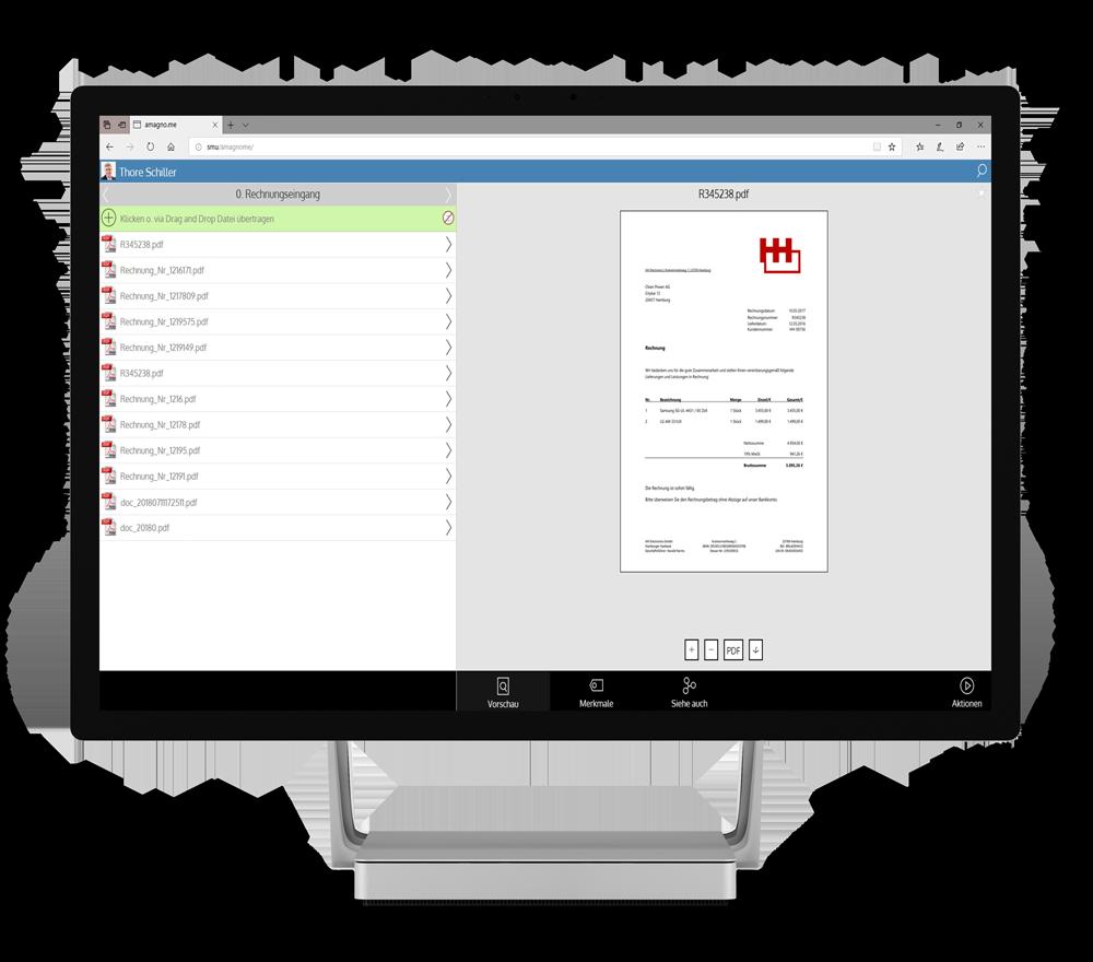Amagno.me on Microsoft Studio - AMAGNO Business Cloud Anmeldung