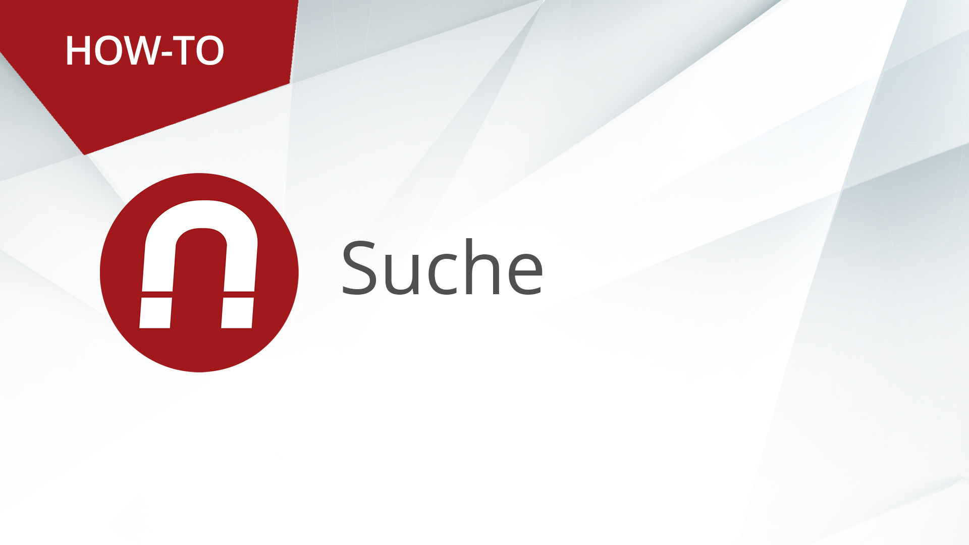 How-To: AMAGNO Advanced – Suche