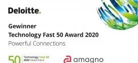 Amagno erneut eines der schnellst wachsenden Unternehmen